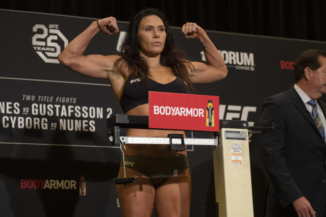 Cat Zingano is reportedly returning to MMA with Bellator after getting released by UFC in August. (Getty Images)