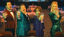"""<p><em>Nominated for: Best Motion Picture–Musical or Comedy; Best Actor in a Motion Picture–Musical or Comedy (James Corden)</em></p> <p>Ryan Murphy's adaptation of a Broadway show about Broadway stars…yeah, it's pretty sparkly. But it's also heartfelt, following one young girl's struggle to participate in that most American rite of passage: attending the prom with the person she likes.</p> <p><a href=""""https://cna.st/affiliate-link/2Z6F81fjBAMUbaw55t2E8q41eU5eDQYHEH5vMP7s8X5gXGxyxd3zMWPNSLVfSbD6S5rxYoM8tGAYsiVuAMA5eBMMYgYT?cid=5fcffe46cea2c24a2fe466ca"""" rel=""""nofollow noopener"""" target=""""_blank"""" data-ylk=""""slk:Watch now on Netflix"""" class=""""link rapid-noclick-resp""""><em>Watch now on Netflix</em></a></p>"""