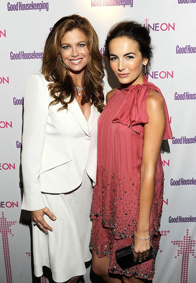 """Unfortunately, former model Kathy Ireland was a tad matronly in her white suit and wavy, long locks. Meanwhile, actress Camilla Belle stunned in an Alberta Ferretti halter dress, which she accented with swept back hair. Kevin Mazur/<a href=""""http://www.wireimage.com"""" target=""""new"""">WireImage.com</a> - April 12, 2011"""