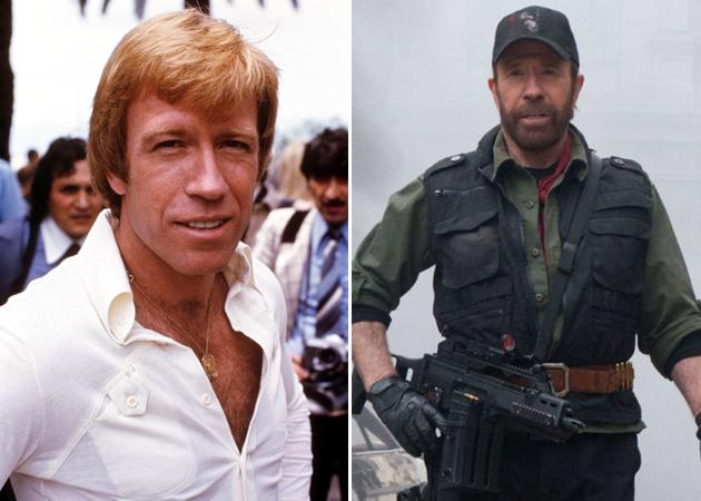 Then and Now Expendables