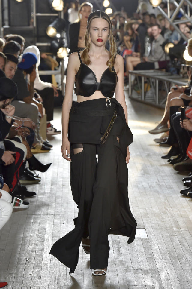 Wear the bag with or without a shirt. (Catwalking via Getty Images)