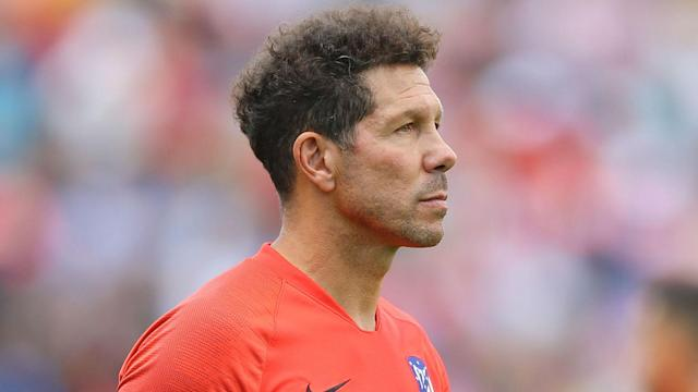 Simeone Atlético de Madrid 15 08 2019