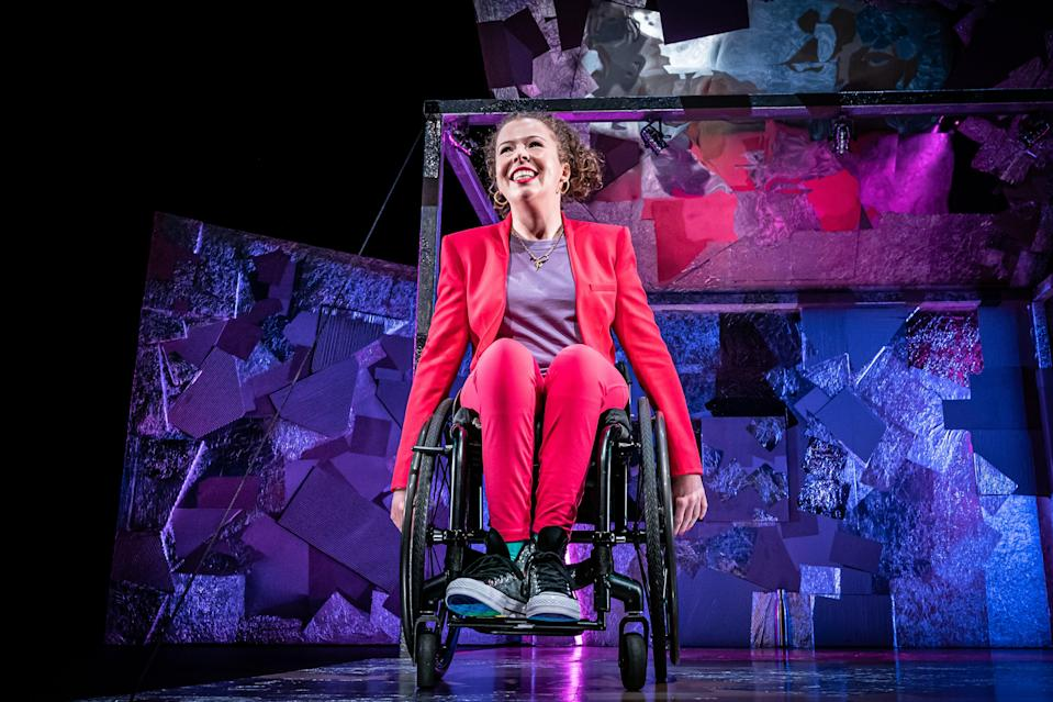 <p>Amy Trigg in Reasons You Should(n't) Love Me </p> (Marc Brenner)