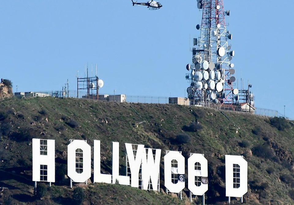 "<p>2017 got off to a weird start in California when an artist changed the famous Hollywood sign to ""Hollyweed"" on New Year's Day. The prankster used tarps to turn the Os into Es. </p>"