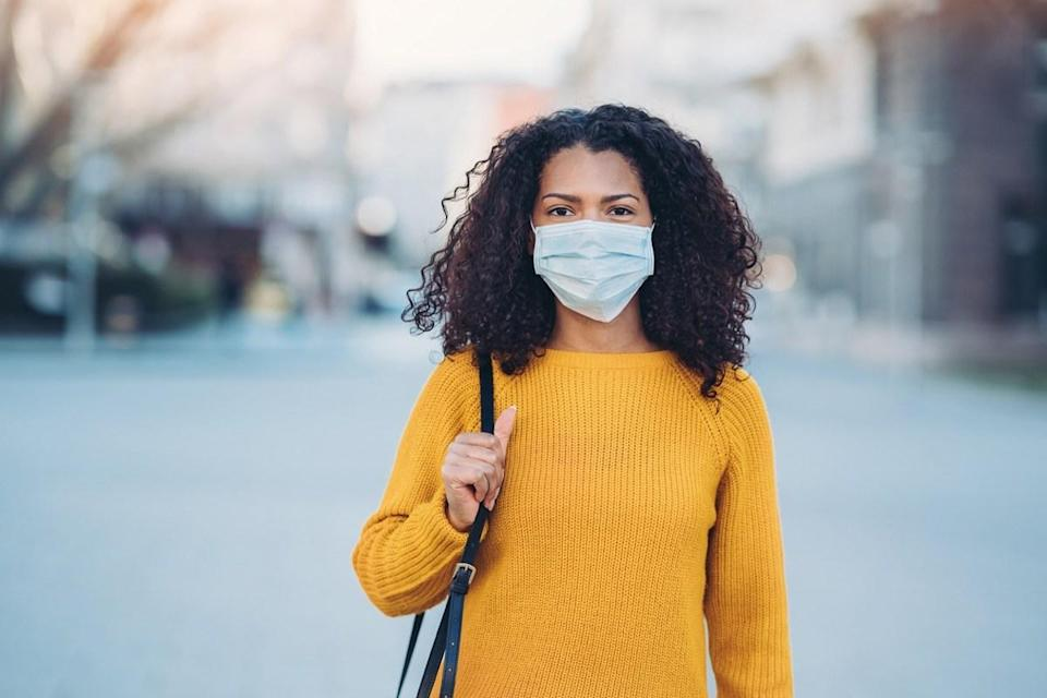 """Walking might not leave you huffing and puffing like other workouts—but in some ways, that's a good thing. A study of chronic obstructive pulmonary disease (COPD) patients, published in the journal <em>Respirology</em> in 2014, found that <a href=""""https://onlinelibrary.wiley.com/doi/abs/10.1111/resp.12239"""" rel=""""nofollow noopener"""" target=""""_blank"""" data-ylk=""""slk:those who walked"""" class=""""link rapid-noclick-resp"""">those who walked</a> the least were more likely to be hospitalized. The researchers concluded that walking as little as about two to four miles a day could help keep COPD patients out of the hospital. And even if you don't have COPD, <a href=""""https://bestlifeonline.com/smoking-coronavirus-health-risks/?utm_source=yahoo-news&utm_medium=feed&utm_campaign=yahoo-feed"""" rel=""""nofollow noopener"""" target=""""_blank"""" data-ylk=""""slk:lung health"""" class=""""link rapid-noclick-resp"""">lung health</a> is especially important amid a respiratory disease pandemic."""