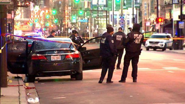 PHOTO: An off-duty Chicago police officer was shot and killed while sitting in a vehicle early Saturday morning, March 23, 2019. (ABC News)