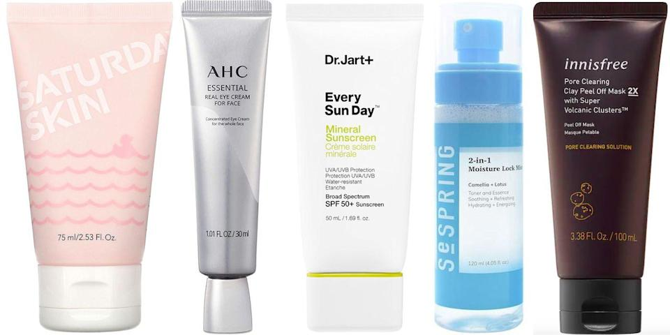 """<p>There's a reason the buzz has yet to subside on all things K-beauty: The products continue to be both cutting edge and highly effective. And although the industry is known for <a href=""""https://www.harpersbazaar.com/beauty/skin-care/g36421956/best-korean-face-masks/"""" rel=""""nofollow noopener"""" target=""""_blank"""" data-ylk=""""slk:incredible face masks"""" class=""""link rapid-noclick-resp"""">incredible face masks</a>, Korean skincare has far more to offer. From facial essences to pimple patches, seemingly half (or more, let's be honest) of our essentials these days originated first in Korea. If you're looking to try the best of the best when it comes to Korean skincare, these 17 products are a great place to start. Ahead, our favorite K-beauty cleansers, moisturizers, masks, and more.</p>"""