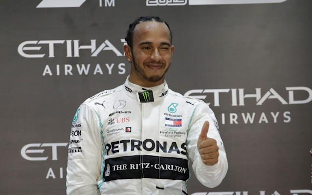 Lewis Hamilton ended 2019 in style, with his most dominant victory of the season - AP