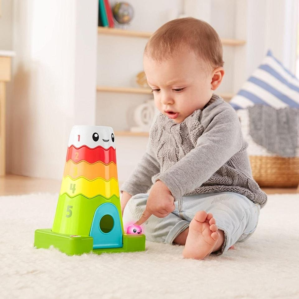 """It'spopulated by a singing purple blob and sliding blue bear to combine counting and colors with problem-solving skills.<br /><br /><strong>Get it from Amazon for <a href=""""https://www.amazon.com/dp/B079ZRHL2H?tag=huffpost-bfsyndication-20&ascsubtag=5764152%2C3%2C40%2Cd%2C0%2C0%2C0%2C962%3A1%3B901%3A2%3B900%3A2%3B974%3A3%3B975%3A2%3B982%3A2%2C15992533%2C0"""" target=""""_blank"""" rel=""""noopener noreferrer"""">$29.72</a>.</strong>"""