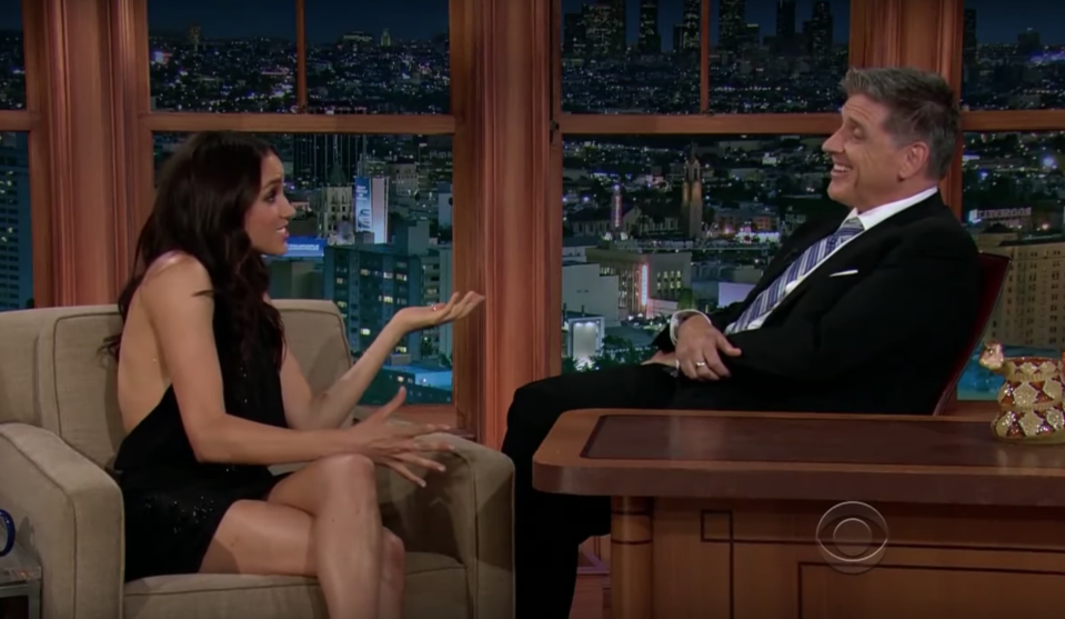 Lots of people have pointed out the uncomfortable nature of the interview [Photo: YouTube]