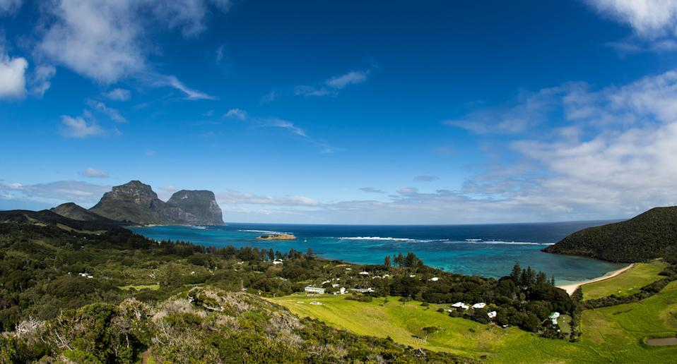 A file image of Lord Howe Island. An urgent warning has been issued for the island after an earthquake struck off the coast of Australia.