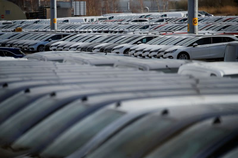 UK car sales slip after sole monthly rise, industry data shows