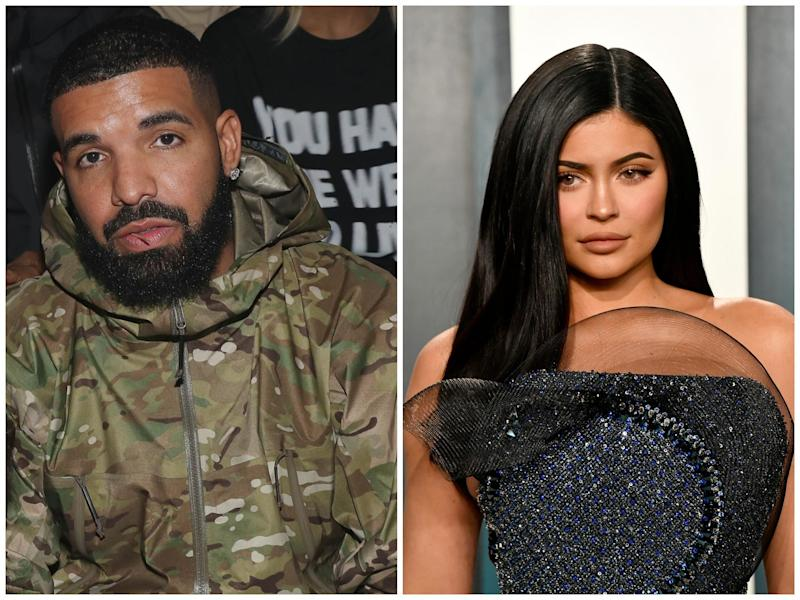 Drake and Kylie Jenner: Getty