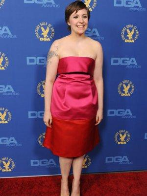 Lena Dunham Sings Onstage with Fun. (Video)