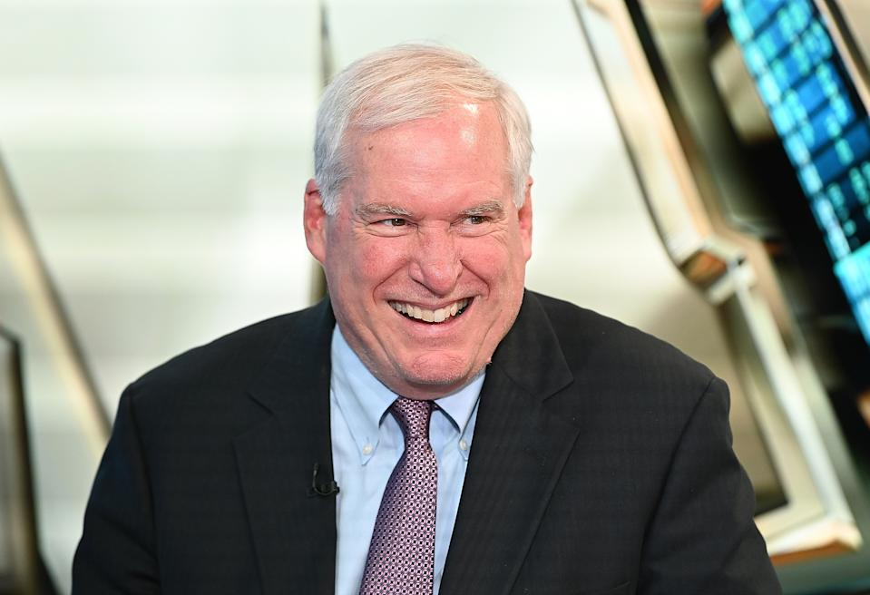 NEW YORK, NY - SEPTEMBER 20:  (EXCLUSIVE COVERAGE) Boston Federal Reserve President Eric Rosengren visits Fox Business News at Fox Business Network Studios on September 20, 2019 in New York City.  (Photo by Slaven Vlasic/Getty Images)