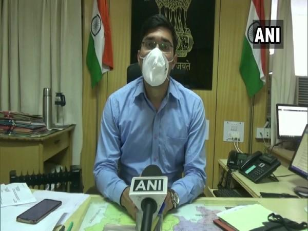 Mukesh Repaswal, Additional Deputy Commissioner in conversation with ANI. (Photo/ANI)