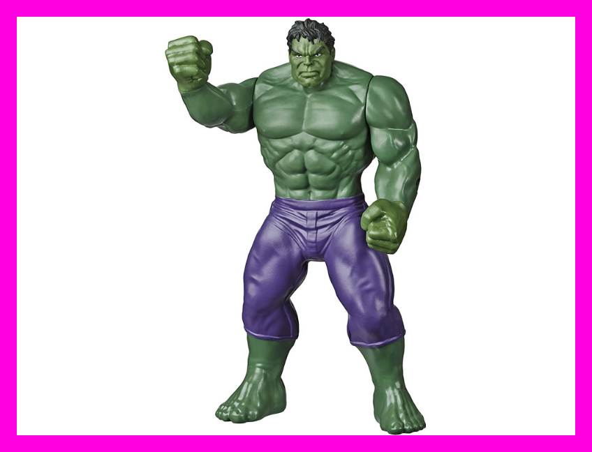 Save 30 percent on the Marvel Hulk Toy 9.5-inch Action Figure. (Photo: Amazon)