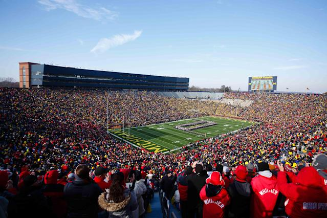 Michigan athletic director Dave Brandon says The Big House will remain alcohol-free