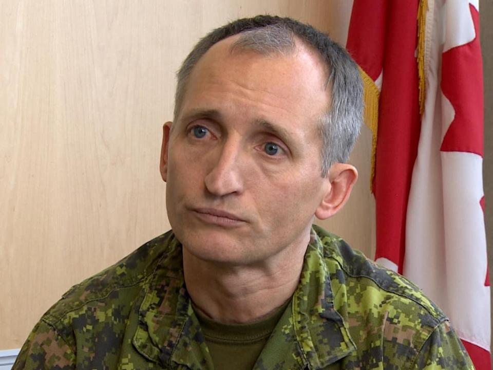 Lt.-Gen. Trevor Cadieu is shown in this January 2018 file photo. He has asked the military to select another officer to serve as army commander due to an investigation into historical allegations made against him. (Phil LaPlante/CBC - image credit)