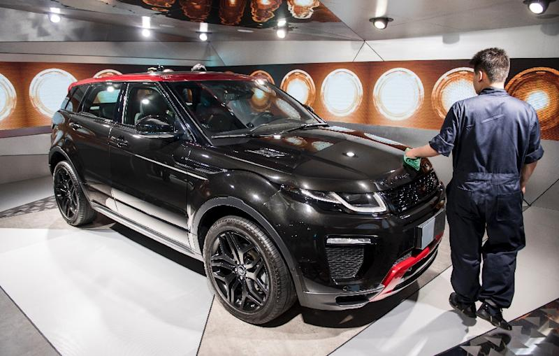 Land Rover has been involved in a patent dispute with Chinese carmaker Landwind since 2014 -- one of several such cases in a country notorious for intellectual property theft (AFP Photo/Johannes EISELE)