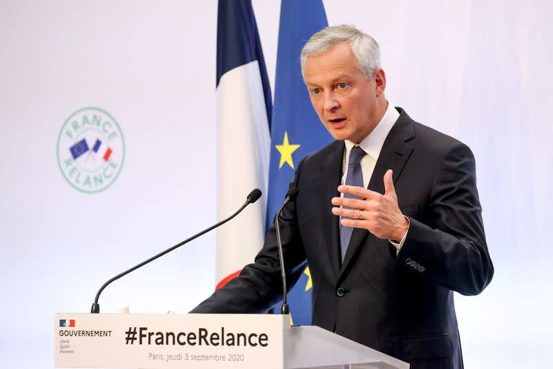 France could do better than forecast 11% economic contraction, says Le Maire