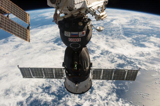 Astronauts work to fix  International Space Station leak