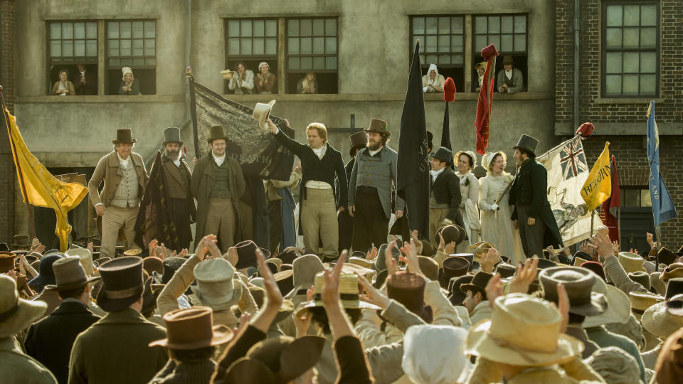 The Movie Peterloo Is Based on a Real Massacre. Here's What to Know About the True Story
