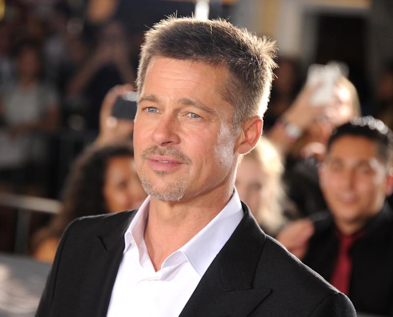 Brad Pitt's New Haircut Is Here to Distract You From Work