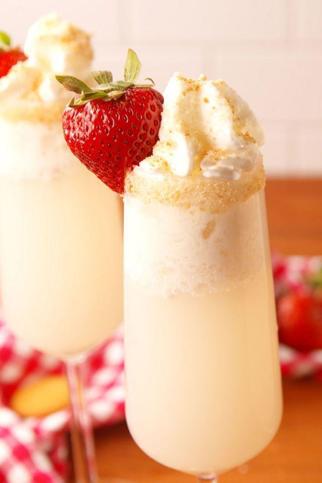 """<p>Strawberry ice cream and vanilla vodka make this cocktail extra decadent. </p><p><strong><em>Get the recipe at <a href=""""https://www.delish.com/cooking/recipe-ideas/a54025/strawberry-shortcake-mimosas-recipe/"""" rel=""""nofollow noopener"""" target=""""_blank"""" data-ylk=""""slk:Delish"""" class=""""link rapid-noclick-resp"""">Delish</a>. </em></strong><em><br><br><strong>________________________________________________</strong><br><br><em>Want more Woman's Day? </em><a href=""""https://subscribe.hearstmags.com/subscribe/womansday/253396?source=wdy_edit_article"""" rel=""""nofollow noopener"""" target=""""_blank"""" data-ylk=""""slk:Subscribe to Woman's Day"""" class=""""link rapid-noclick-resp""""><em>Subscribe to Woman's Day</em></a><em> today and get </em><strong><em>73% off your first 12 issues</em></strong><em>. And while you're at it, </em><a href=""""https://link.womansday.com/join/3o9/wdy-newsletter"""" rel=""""nofollow noopener"""" target=""""_blank"""" data-ylk=""""slk:sign up for our FREE newsletter"""" class=""""link rapid-noclick-resp""""><em>sign up for our FREE newsletter</em></a><em> for even more of the Woman's Day content you want.</em><br><br><br><br></em></p>"""