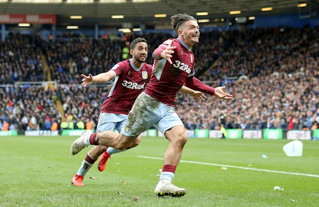 Jack Grealish got the best revenge he could. (Associated Press)