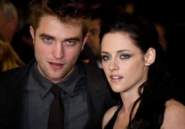 Robert Pattinson and Kristen Stewart Twilight