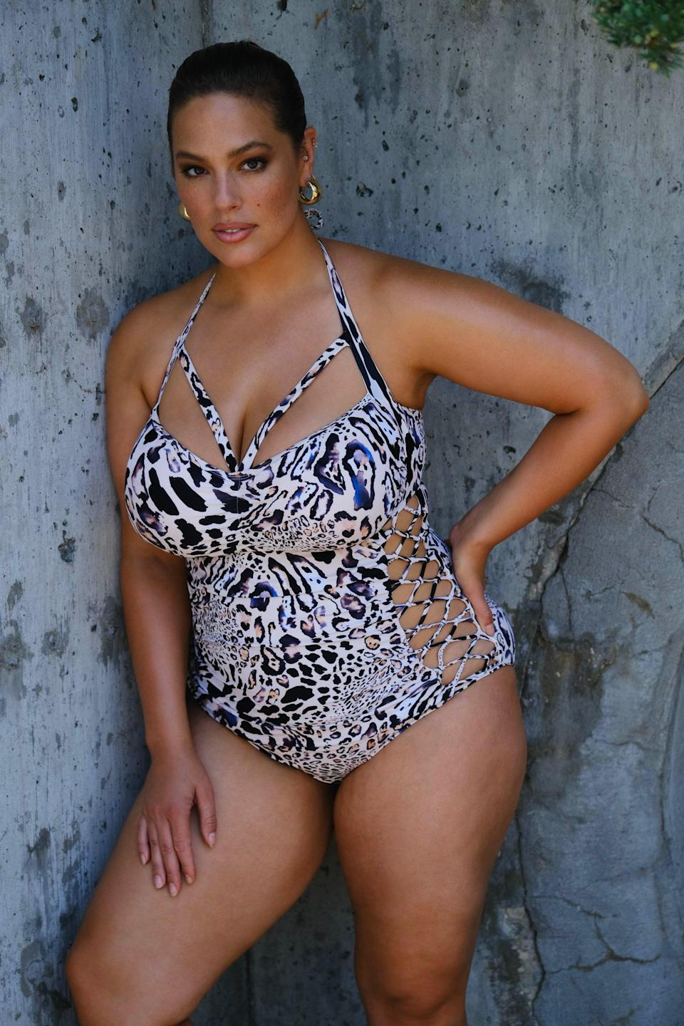 <p><span>Ashley Graham x Swimsuits For All Boss Fearless Underwire One Piece Swimsuit</span> ($64)</p>
