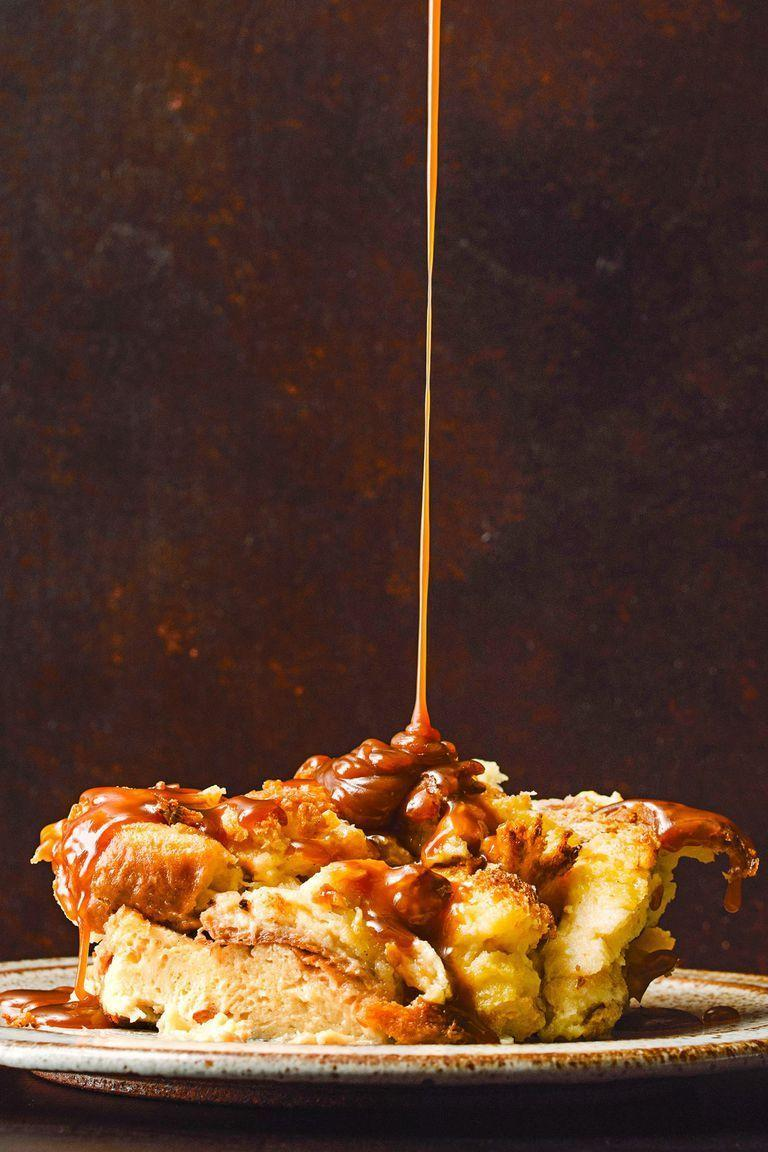 "<p>Once you master making this sticky-sweet homemade caramel sauce, you'll want to pour it over <em>everything</em>.</p><p><em><a href=""https://www.goodhousekeeping.com/food-recipes/dessert/a23693912/brioche-bread-pudding-with-bourbon-caramel-sauce-recipe/"" rel=""nofollow noopener"" target=""_blank"" data-ylk=""slk:Get the recipe for Brioche Bread Pudding with Bourbon-Caramel Sauce »"" class=""link rapid-noclick-resp"">Get the recipe for Brioche Bread Pudding with Bourbon-Caramel Sauce »</a></em></p>"