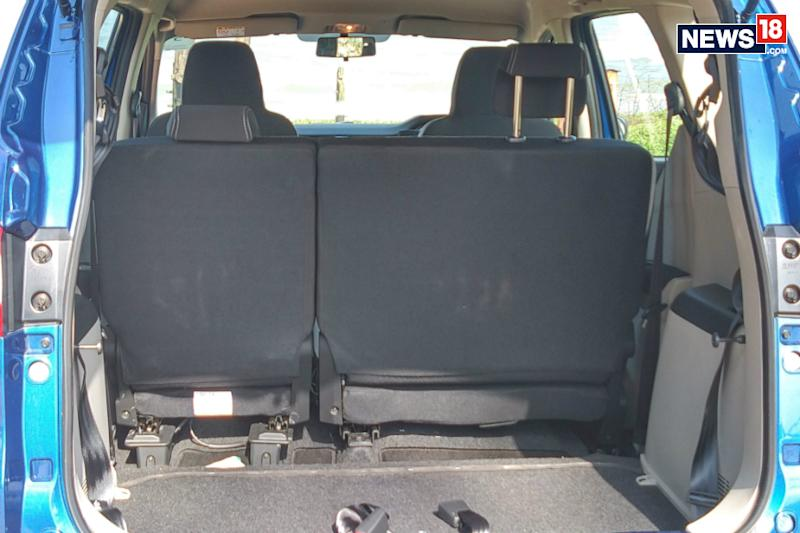 Renault Triber boot without third row. (Image: Arjit Garg/News18.com)