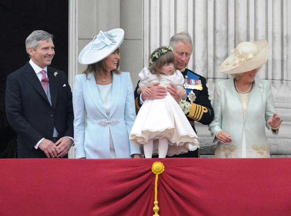 Laura's daughter Eliza was a bridesmaid at the wedding of the Duke and Duchess of Cambridge [Photo: Getty]