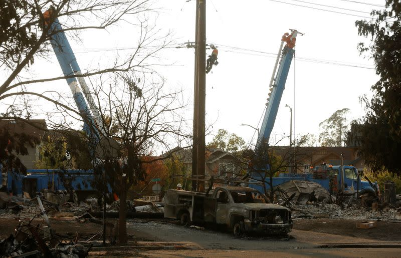 PG&E creditors offer California wildfire victims $13.5 billion in cash upfront