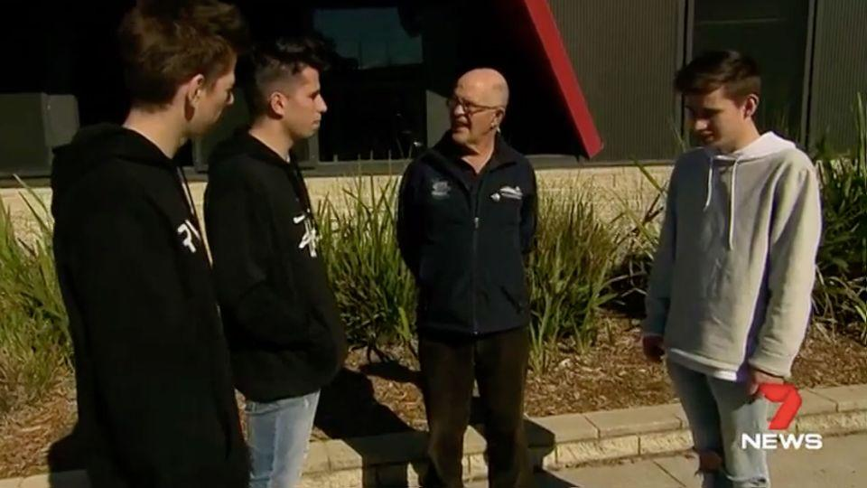 Geoff Rice says drivers and their pupils can become lifelong friends. Source: 7 News