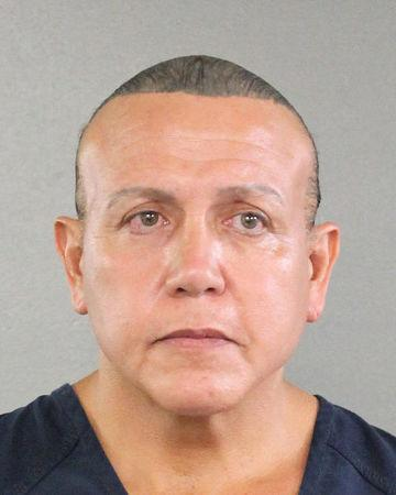 Cesar Altieri Sayoc is pictured in Ft. Lauderdale, Florida, U.S. in this August 2015 handout booking photo obtained by Reuters October 26, 2018. Broward County Sheriff's Office/Handout via REUTERS