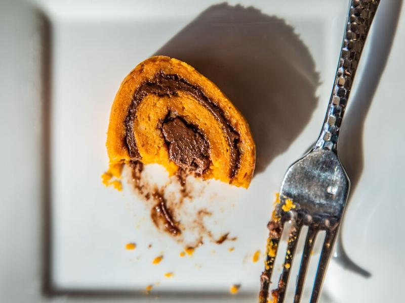 Nutella and sweet potato roulade from chef Tanya Holland. | Sarah Crowder