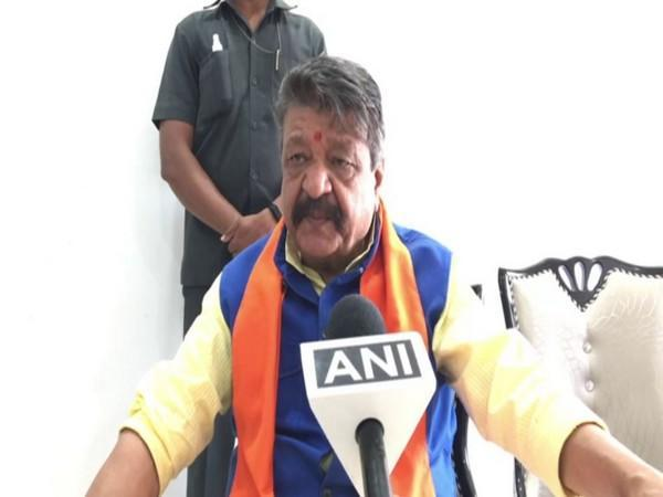 BJP's General Secretar,  Kailash Vijayvargiya (Photo/ANI)