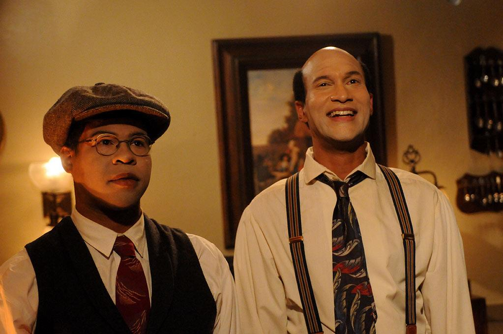 "Jordan Peele and <a href=""/baselineperson/3846719"">Keegan-Michael Key</a> in ""Key & Peele."""