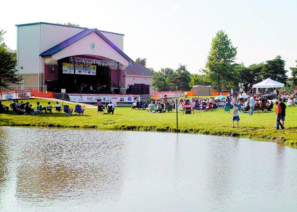 Oak Grove Park will be the site of the Gladstone Summertime Bluesfest.