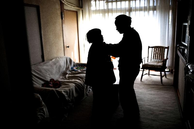 Nearly 50 million people around the world suffer from dementia and Alzheimer's according to the latest estimates (AFP Photo/BEHROUZ MEHRI)