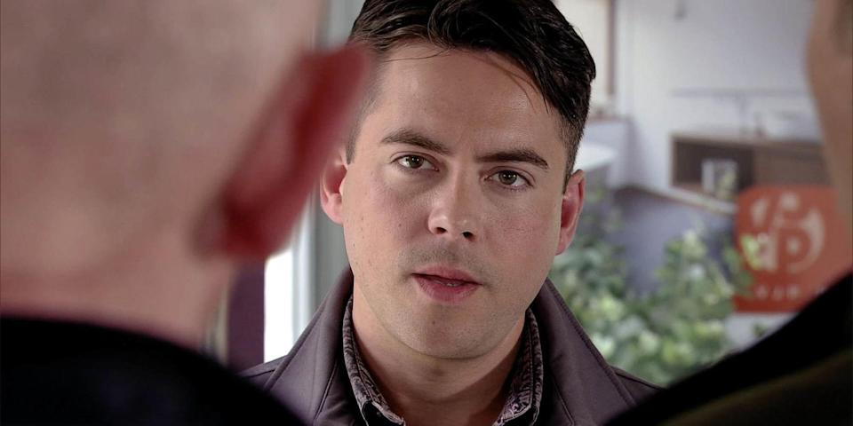 Bruno plays Todd in the ITV soap. Copyright: [ITV]