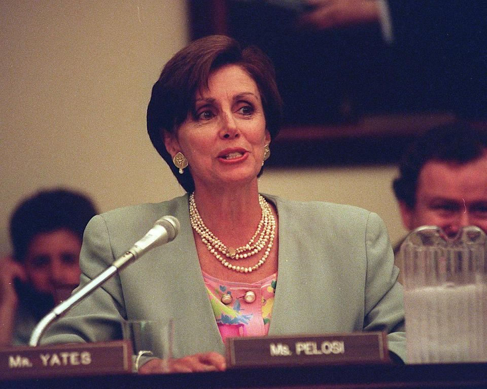 <p>Pelosi in Congress. </p>