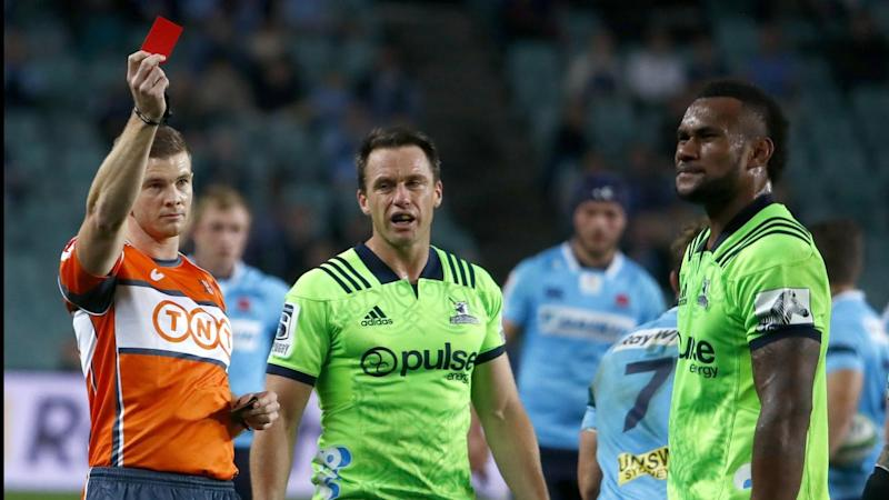 Red card replacements is one of seven rule changes for the new Super Rugby Australia competition