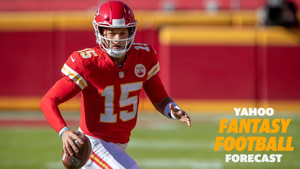 Patrick Mahomes threw for 5 touchdowns on the Jets defense.