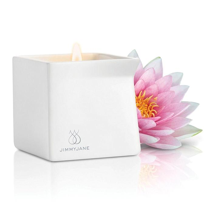 &quot;The <a href=&quot;https://www.amazon.com/Jimmyjane-Afterglow-Natural-Massage-Candle/dp/B00XIKGUDA&quot; target=&quot;_blank&quot;>Afterglow</a>&amp;nbsp;is a solid candle made from natural, good-for-the-skin ingredients (including jojoba, shea butter, vitamin E and aloe) that melt into a luxurious, smoky, sweet-smelling massage oil for partners to use while indulging in major manual fun. Housed in an elegant ceramic container, with a pinched corner to facilitate pouring, this massage oil is the perfect complement to massage, sensual or not.&quot; --&amp;nbsp;<i><a href=&quot;https://www.laurelsteinberg.com/&quot; target=&quot;_blank&quot;>Laurel Steinberg</a>, psychotherapist and assistant professor of sexology at the American Academy of Clinical Sexologists</i>