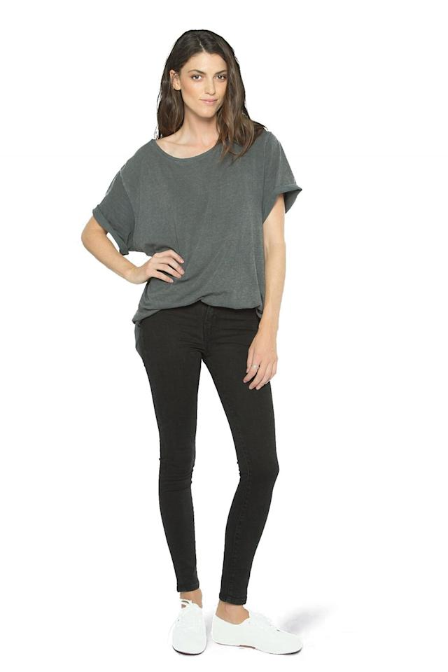 "<p><em>Outland Denim harriet in black jeans, $180</em></p><p><em></em><a rel=""nofollow"" href=""https://outlanddenim.ca/products/harriet-in-black-1?variant=12431424815201"">SHOP IT</a></p>"