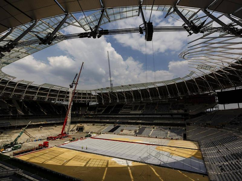 Plans to move into the stadium next month have been derailed (Getty)